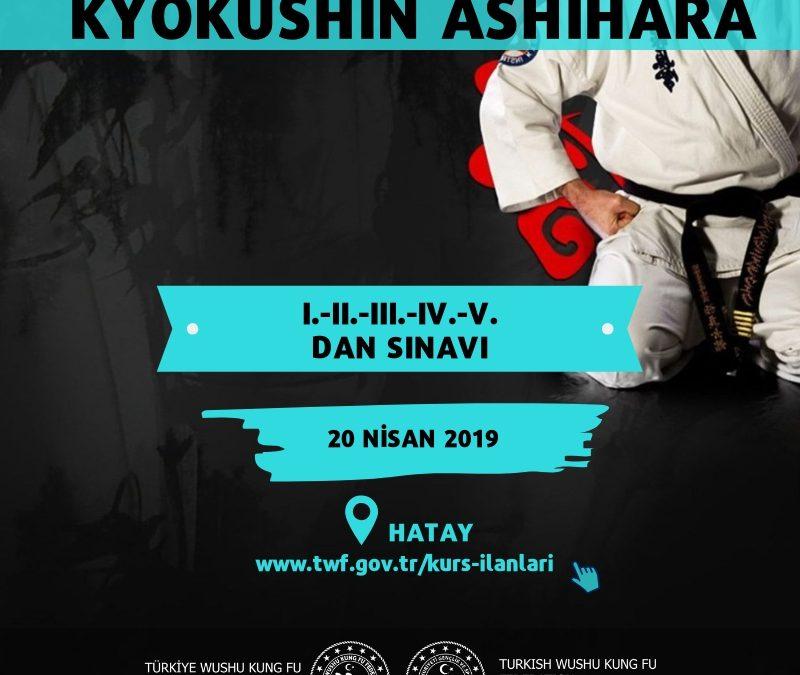 BUDOKAIDO KYOKUSHIN ASHIHARA SPOR BRANŞI DAN ( I.-II.-III.-IV.-V. DAN ) SINAVI