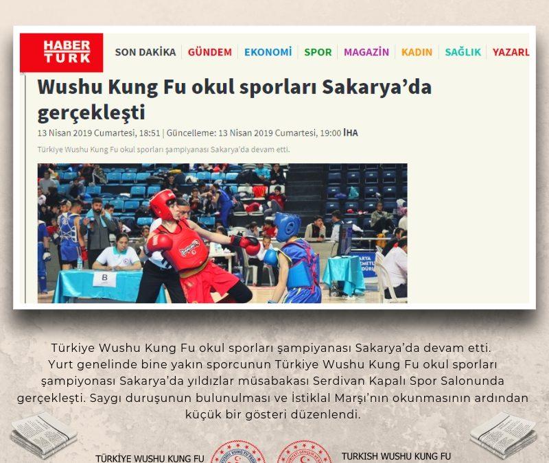 Wushu Kung Fu Okul Sporları Sakarya'da Gerçekleşti