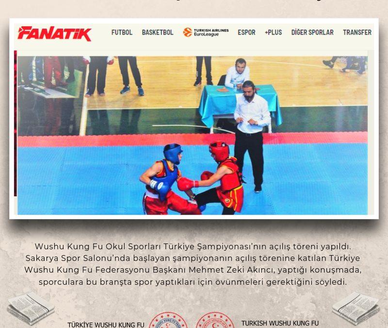 Wushu Kung Fu Şampiyonası başladı / Fanatik