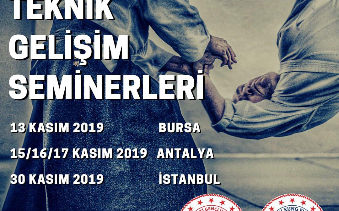 Aikido Teknik Gelişim Seminerleri – Kasım 2019