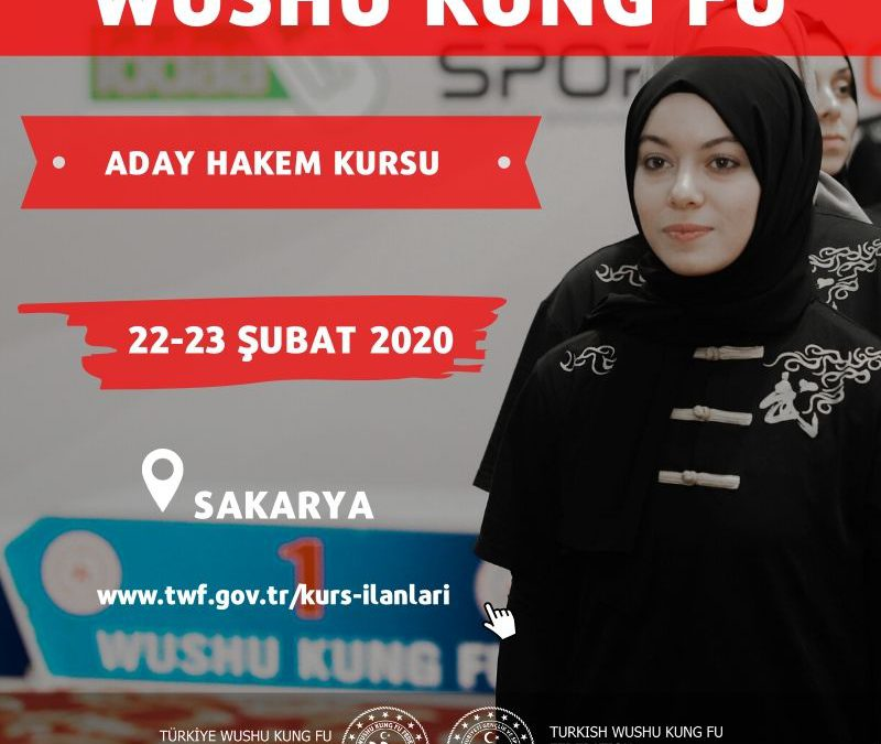 WUSHU ADAY HAKEM KURSU – ŞUBAT 2020 – SAKARYA