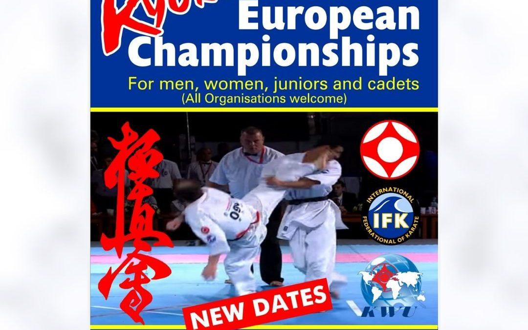 7. IFK Kyokushın Avrupa Şampiyonası 5-9 KASIM 2020