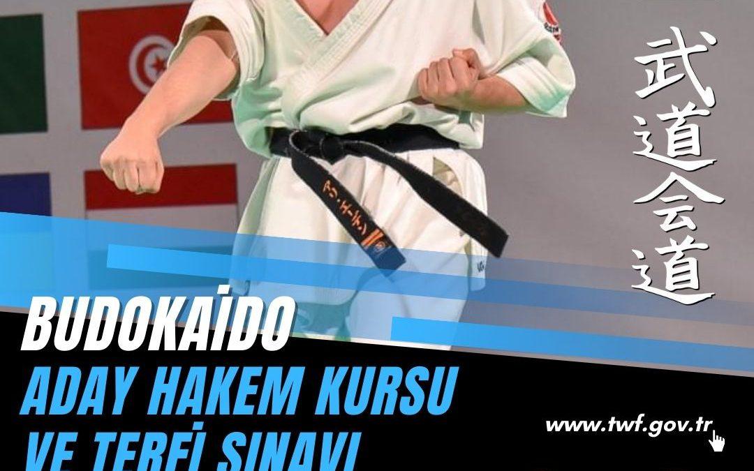 BUDOKAİDO ADAY HAKEM KURSU VE TERFİ SINAVI / 07-08 AĞUSTOS 2021 / DÜZCE